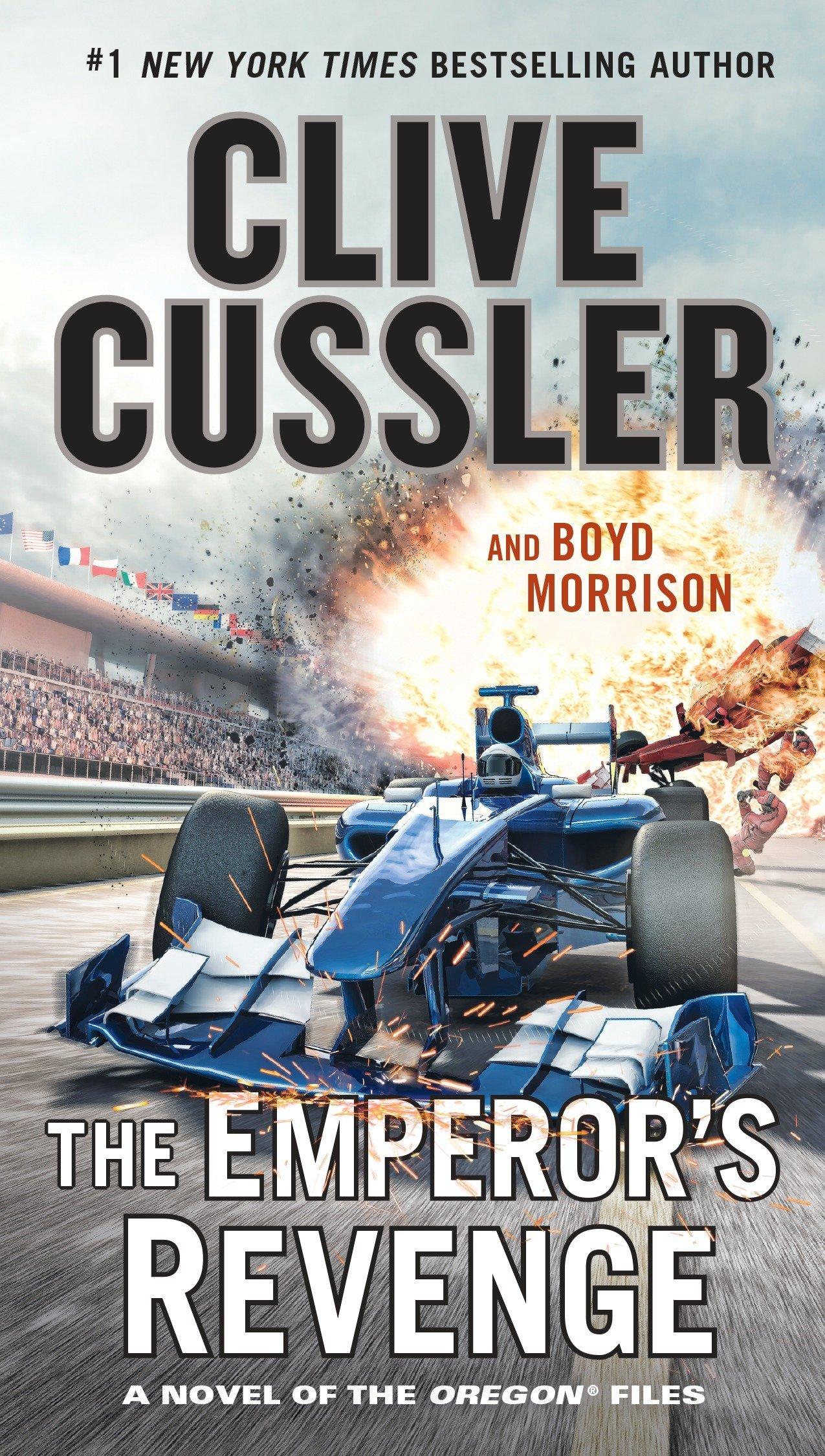 Amazon.com: The Emperor's Revenge (The Oregon Files) (9780735215368): Clive  Cussler, Boyd Morrison: Books