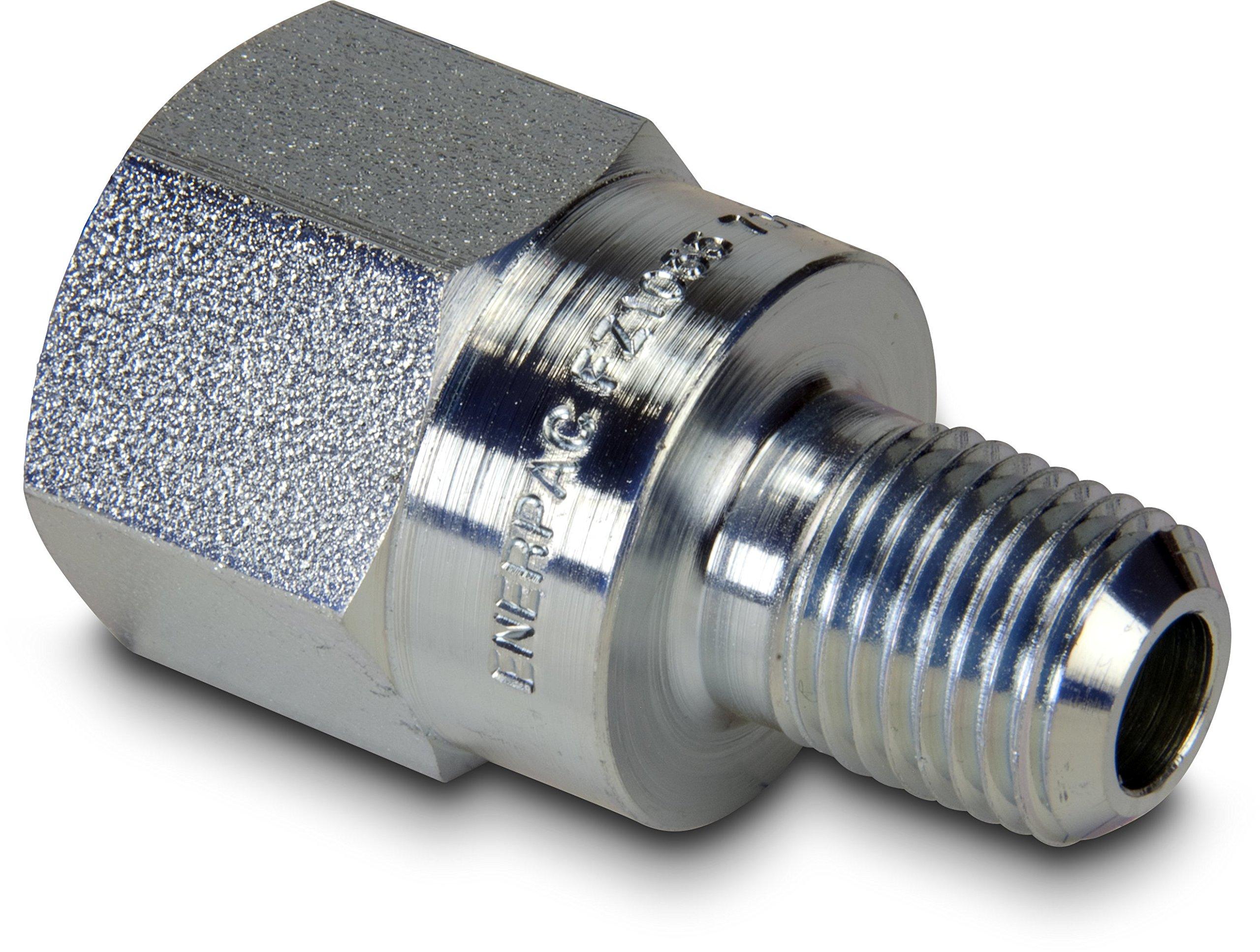 Enerpac FZ1055 Adaptor Fitting, 3/8''-18 NPTF Female, 1/4''-18 NPTF Male