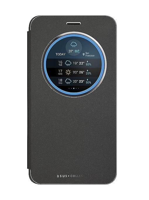 """8 opinioni per Asus View Flip Cover Custodia per ZenFone 3 Laser 5.5"""" ZC551KL, Nero"""