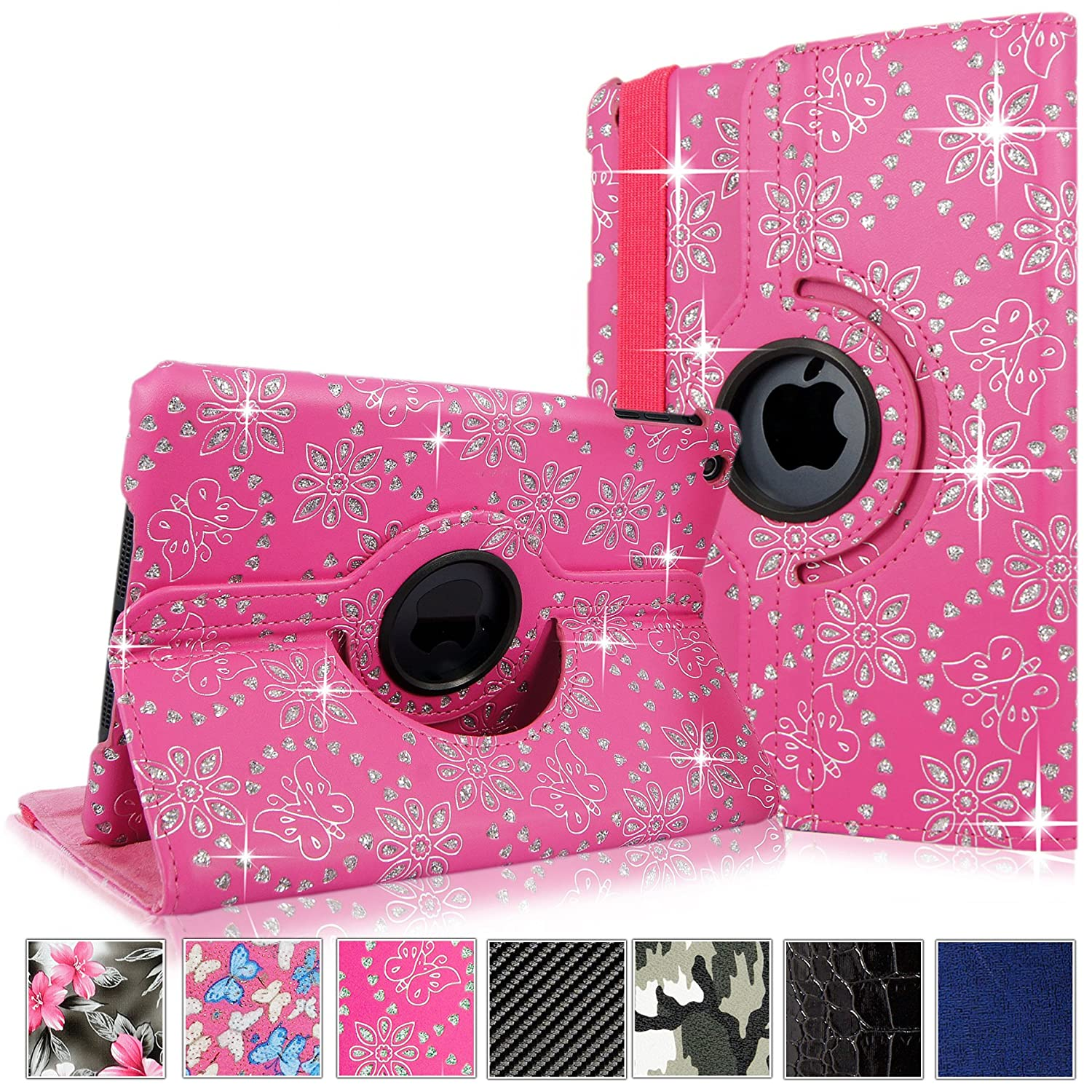 Cellularvilla Display Rotating Glitter Leather Image 1