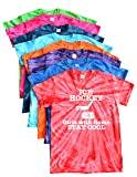JANT girl Ice Hockey Tie Dye T-Shirt for Girls with Game Logo