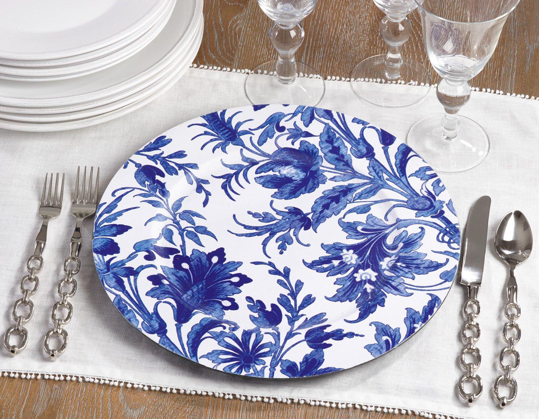 Fennco Styles Decoraitve Garden Flower Print 14