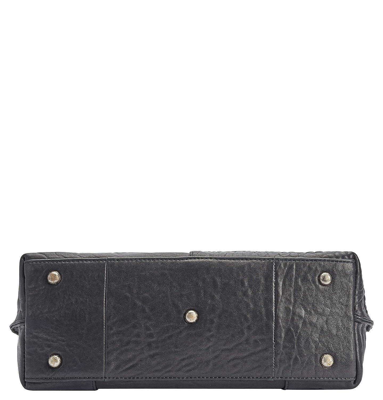 voi leather design accessoarer väskor 30451 CLOUD grå 701068 svart