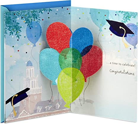Amazon.com: Hallmark Paper Wonder Pop Up - Tarjeta de ...