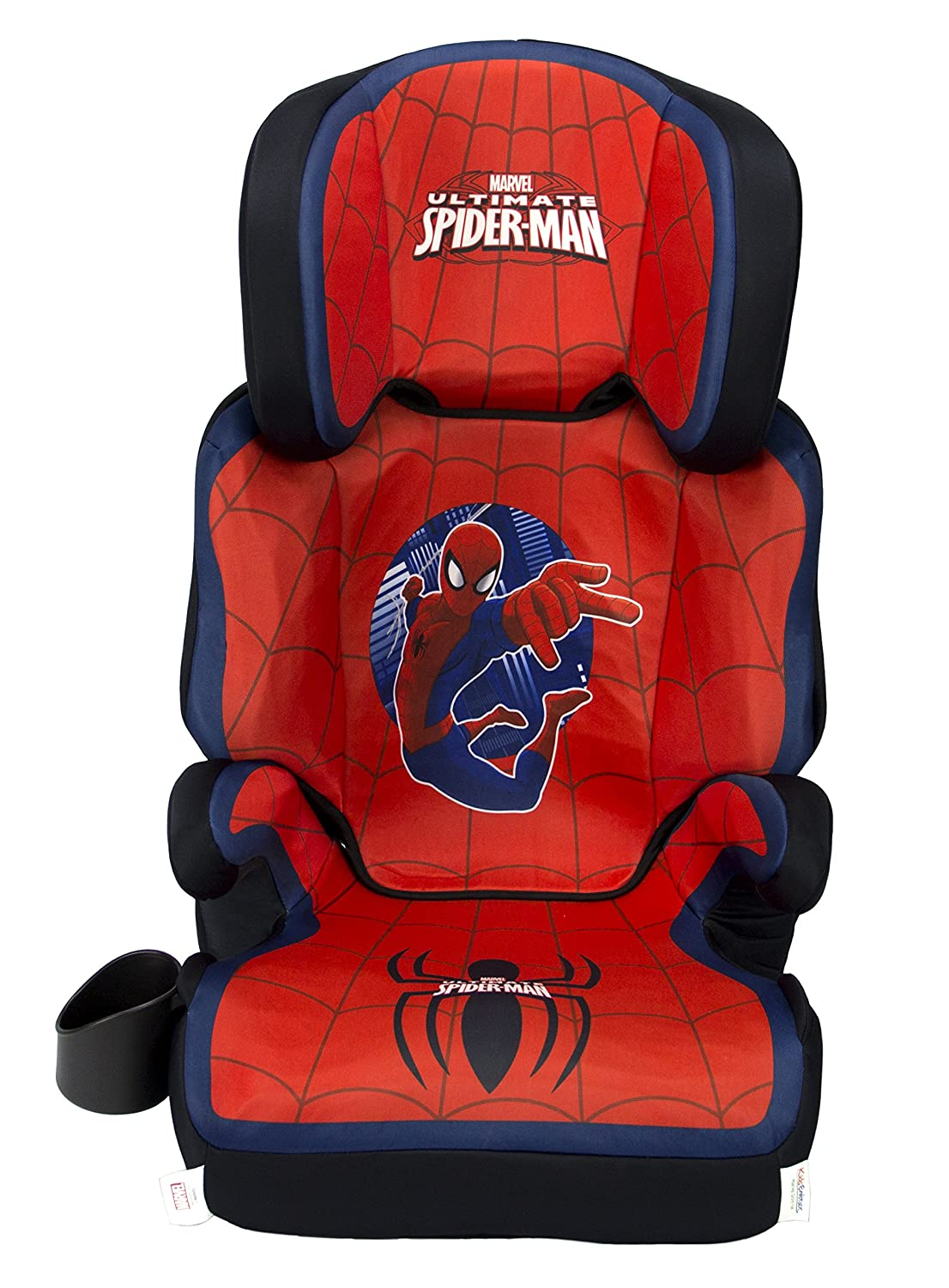 KidsEmbrace High-Back Booster Car Seat, Marvel Spider-Man 4601SPD