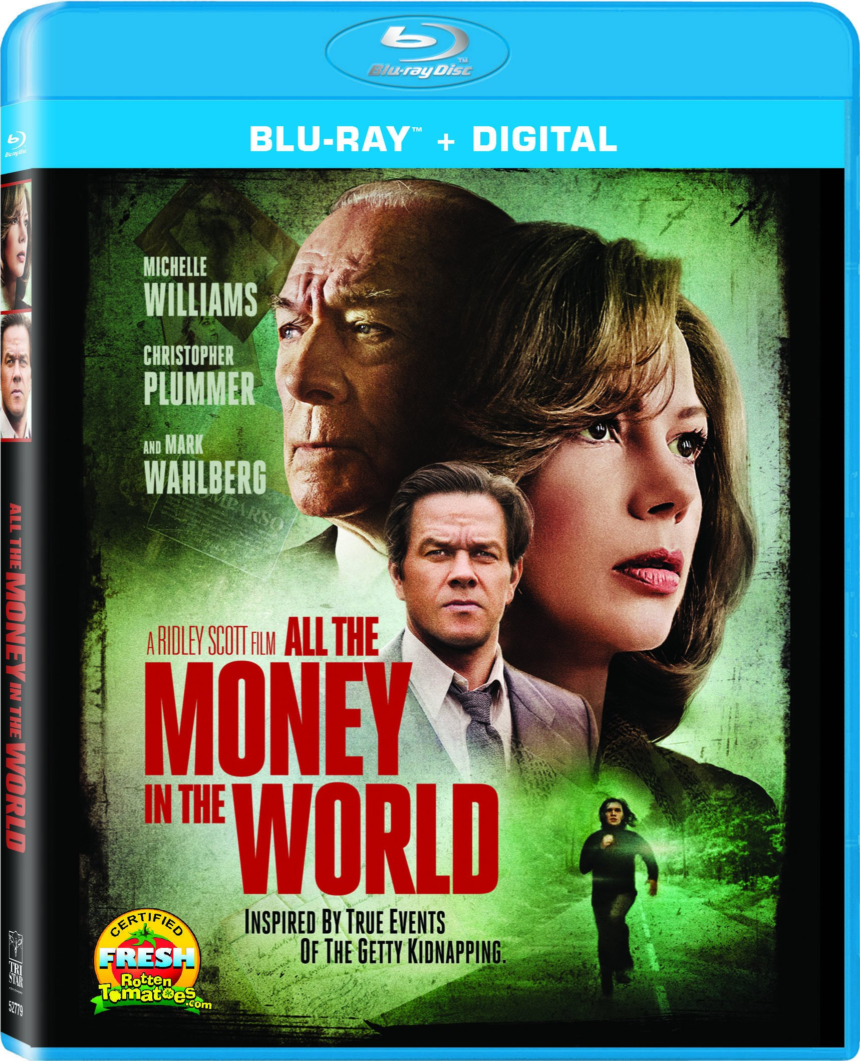 Blu-ray : All The Money In The World (Widescreen, Dolby, AC-3, Digital Copy, Dubbed)