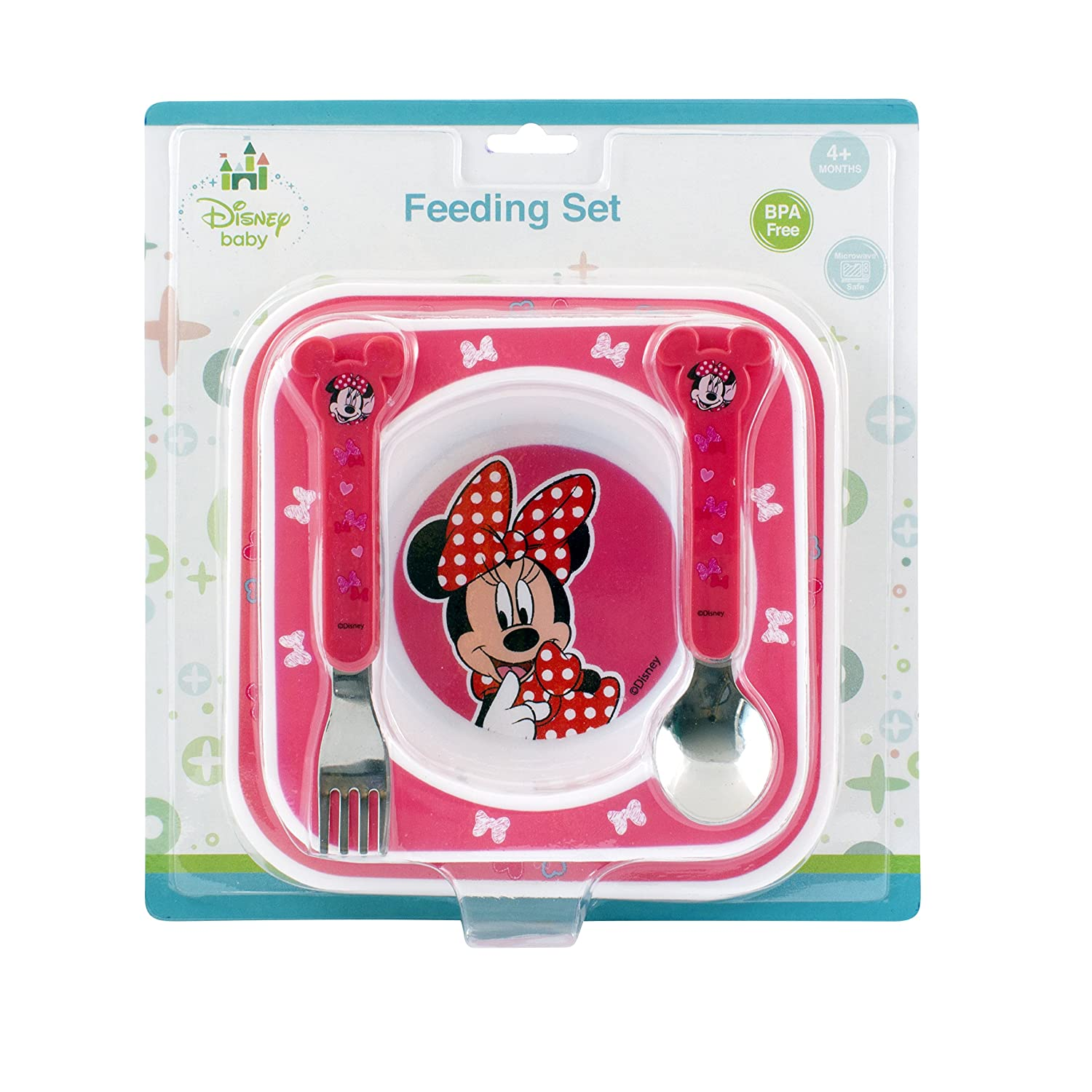 Disney Baby Minnie Mouse Feeding Gift Set 49460