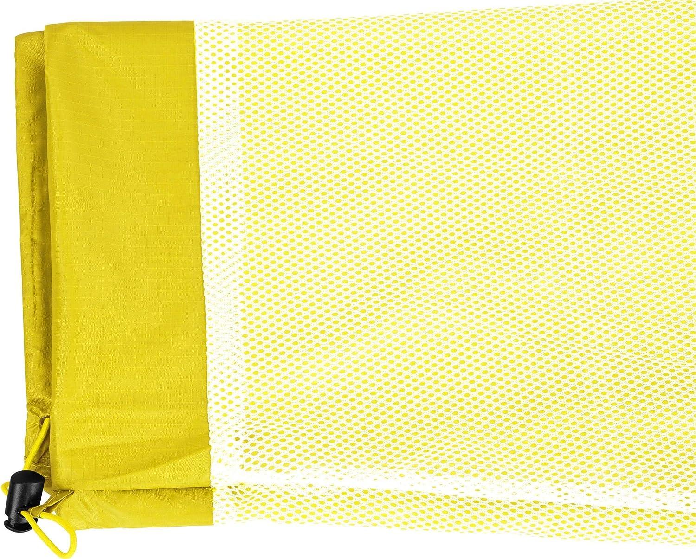 Winddicht und atmungsaktiv mit Rei/ßverschlusstaschen f/ür Damen und Herren Farbe Gelb Gr/ö/ße L normani Unisex Regenhose 6000 mm wasserdicht