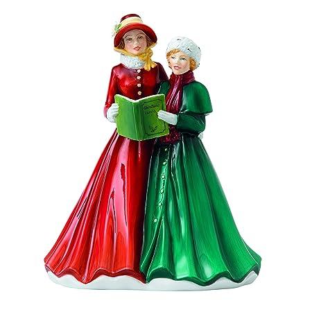 Christmas Carol Singers Figurines.Royal Doulton O Little Town Of Bethlehem Hn 5810 Carol