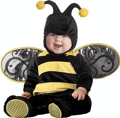 InCharacter Costumes Babyu0027s Lilu0027 Stinger Bee Costume Black/Yellow ...  sc 1 st  Amazon.com & Amazon.com: InCharacter Baby Lilu0027 Stinger Bee Costume: Clothing