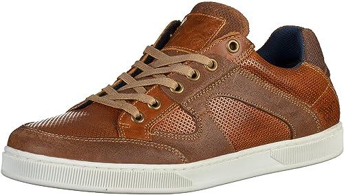 Mustang - Zapatillas deportivas Hombre , marrón (marronnier), 47 EU: Amazon.es: Zapatos y complementos