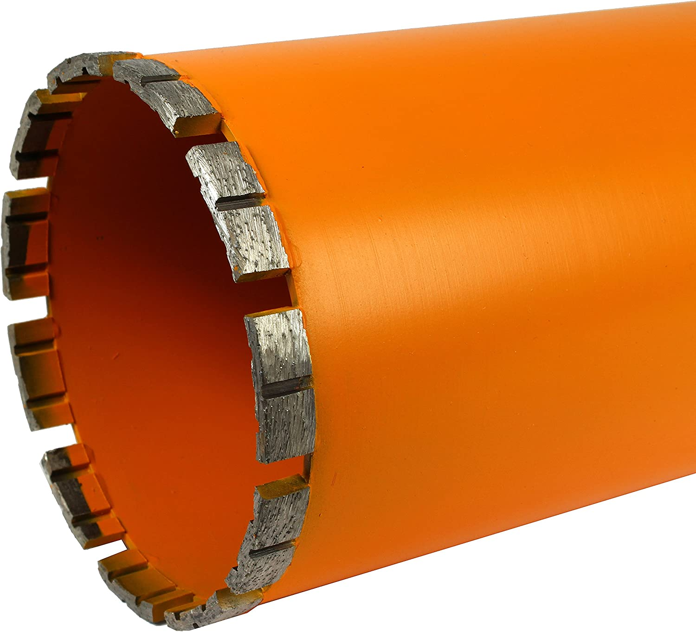Archer PRO 2-1//2 in Diamond Turbo Core Drill Bits for Concrete Drilling