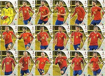 ADRENALYN XL Fifa Copa del mundo 2018- 18 cromos de la ...