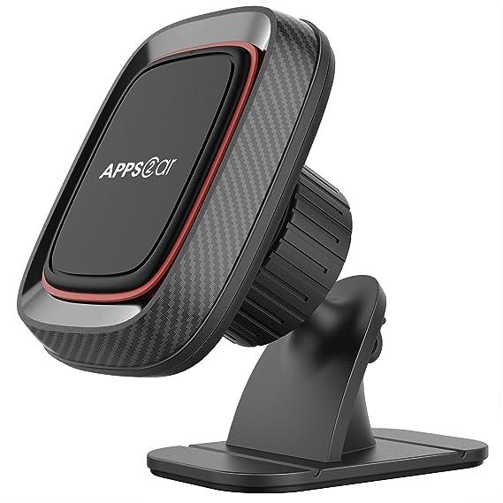 4d96ffa48ff047 Magnetic Car Phone Mount, APPS2Car Stick On Dashboard Universal Magnetic  Car Phone Mount Holder for
