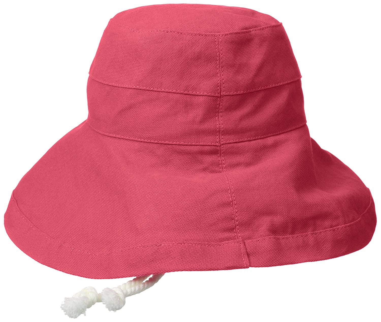 86f9185b Scala Women's Cotton Big Brim Hat, Coral Rose, One Size: Amazon.ca:  Clothing & Accessories