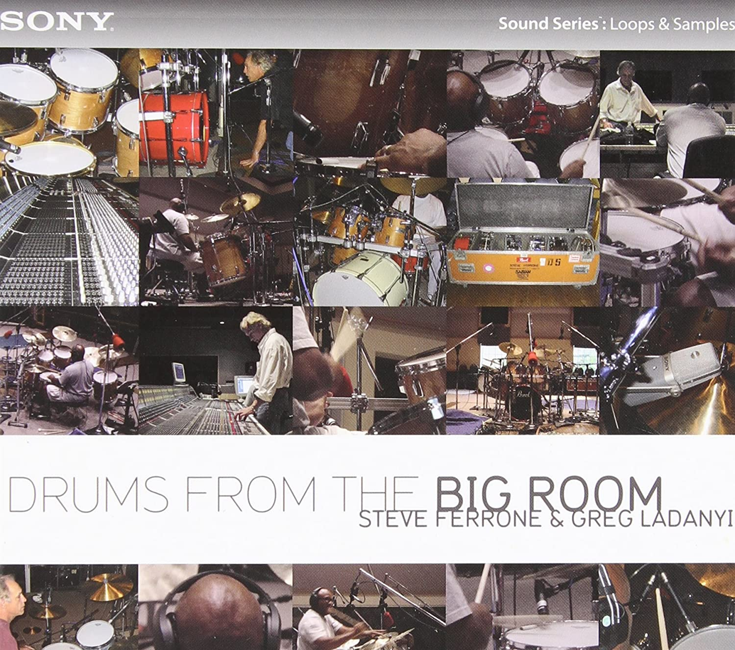 Amazon com: SONY Drums from the Big Room ( Windows ): Video