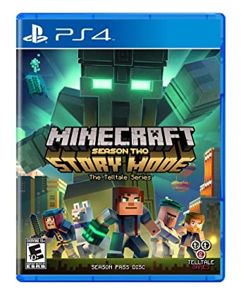 Amazon Com Minecraft Story Mode Season 2 Playstation 4