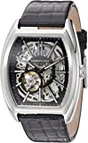 Kenneth Cole New York Men's ' Automatic Stainless Steel and Leather Dress Watch, Color:Black (Model: 10030811)