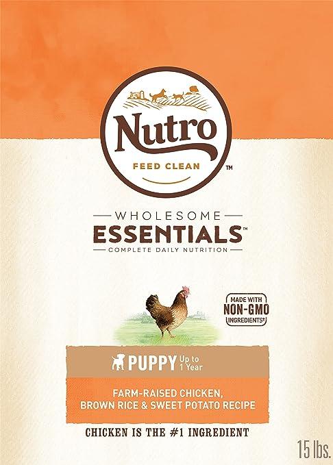 The Nutro Company Puppy Wholesome Essentials - Comida para Perros ...