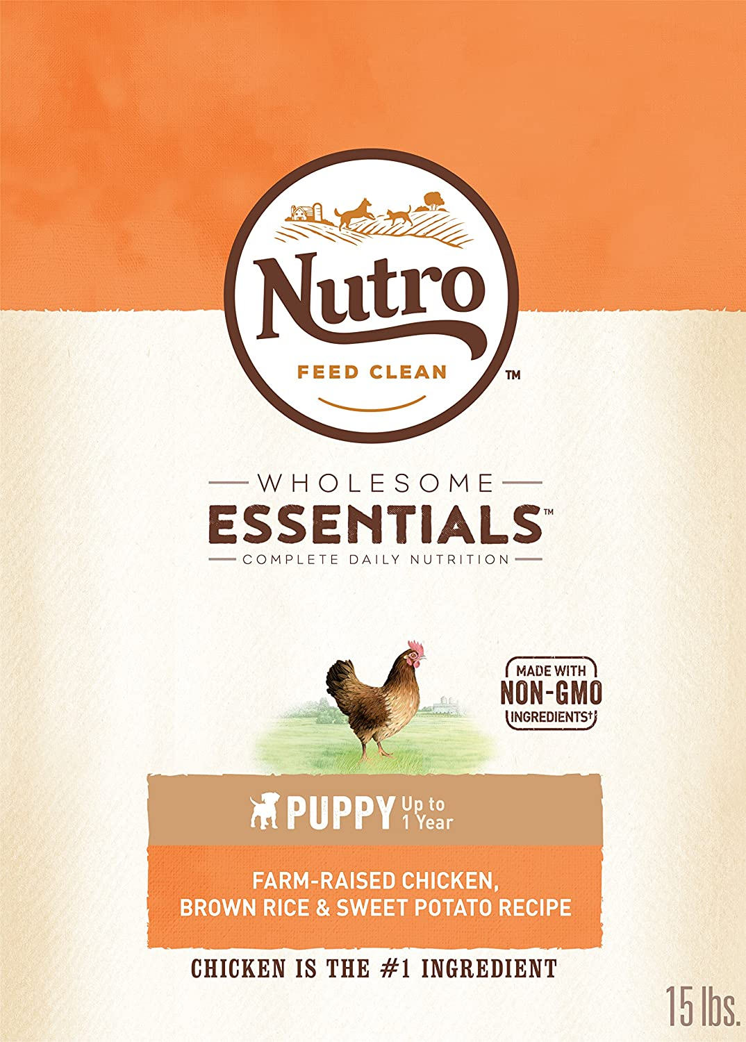 1.Nutro Wholesome Essentials Puppy Dry Dog Food