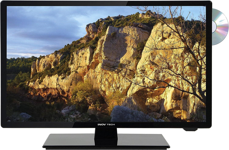 Inovtech Televisor LED HD Ultra Compact 21,5 Pulgadas (55 cm) + DVD: Amazon.es: Coche y moto