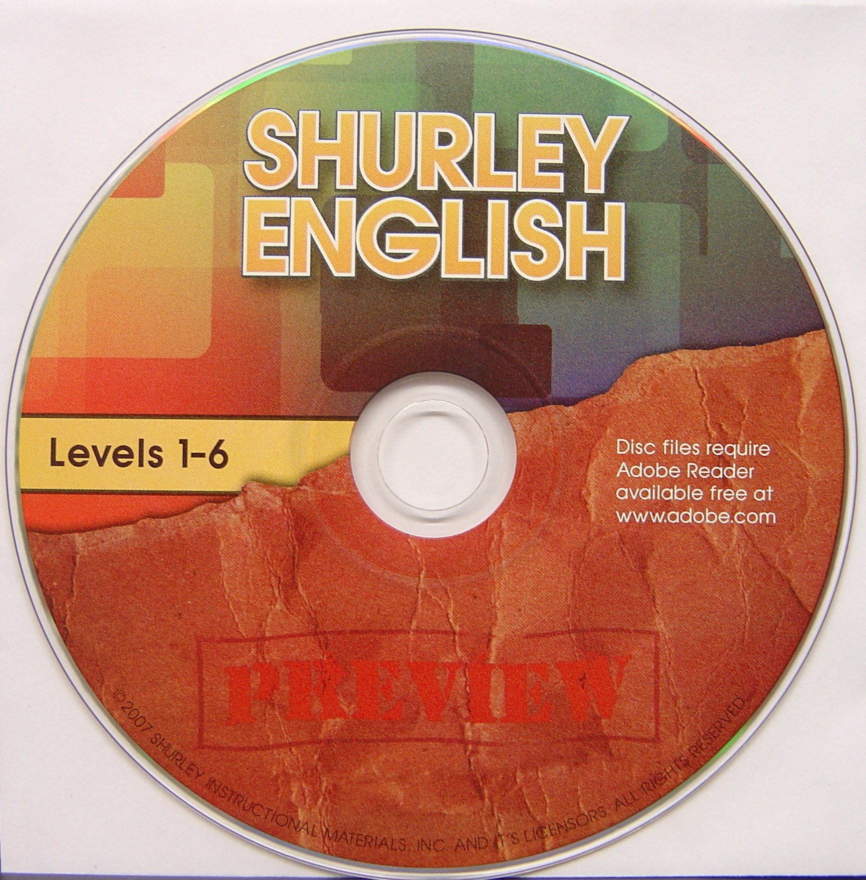 Shurley English Levels 1-6 Preview CD ebook