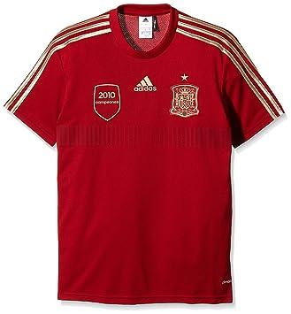 adidas Selección Española de Fútbol - Camiseta de fútbol de aficionado para hombre: Amazon.es: Deportes y aire libre