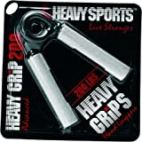 Heavy Grips Aluminium Gripper, Men's (Silver/Black)