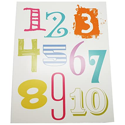 alphabet letters wall dcor and numbers for kids bedroom decor also perfect for teachers and classroom