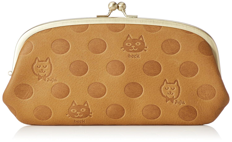 [ボックス21] 長財布 「Juju&beck」がま口型長財布 0331322 B078HRTWWT  キャメル