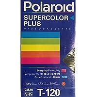 Polaroid Supercolor Plus Video Cassette VHS Tape T-120