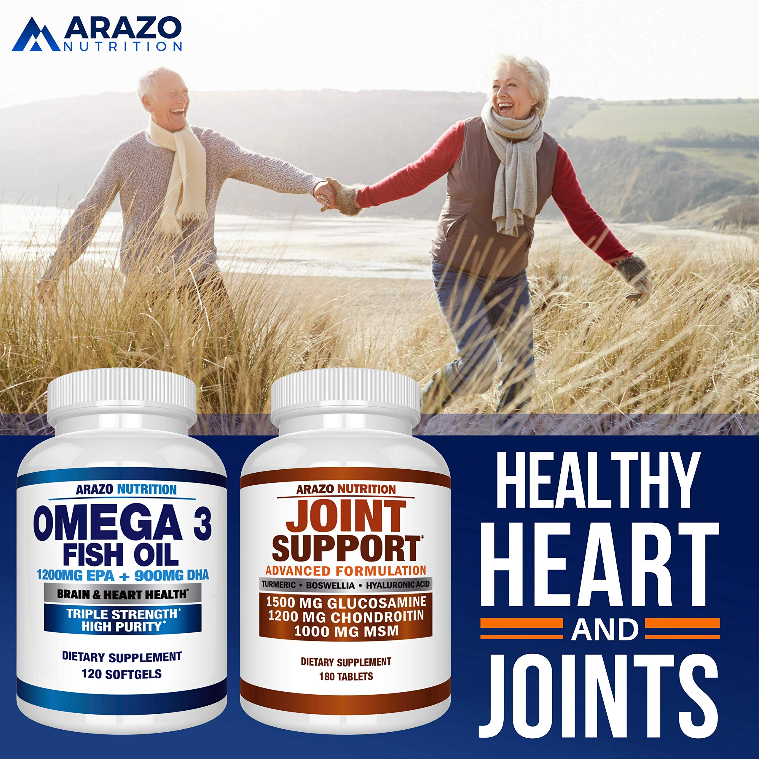 Omega 3 Fish Oil 2250mg   HIGH EPA 1200MG + DHA 900MG Triple Strength Burpless Capsules   120 Pills   Arazo Nutrition by Arazo Nutrition (Image #6)