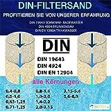 TOP1 25 KG MEINPOOL24.DE FILTERSAND FILTERKIES DIN-FILTERSAND 0,7-1,2 MM
