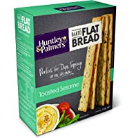 Huntley & Palmers Toasted Sesame Baked Flatbread, 1 x 125g