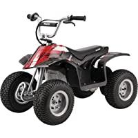 Razor Dirt Quad - 24V Electric 4-Wheeler ATV - Twist-Grip Variable-Speed Acceleration Control, Hand-Operated Disc Brake…