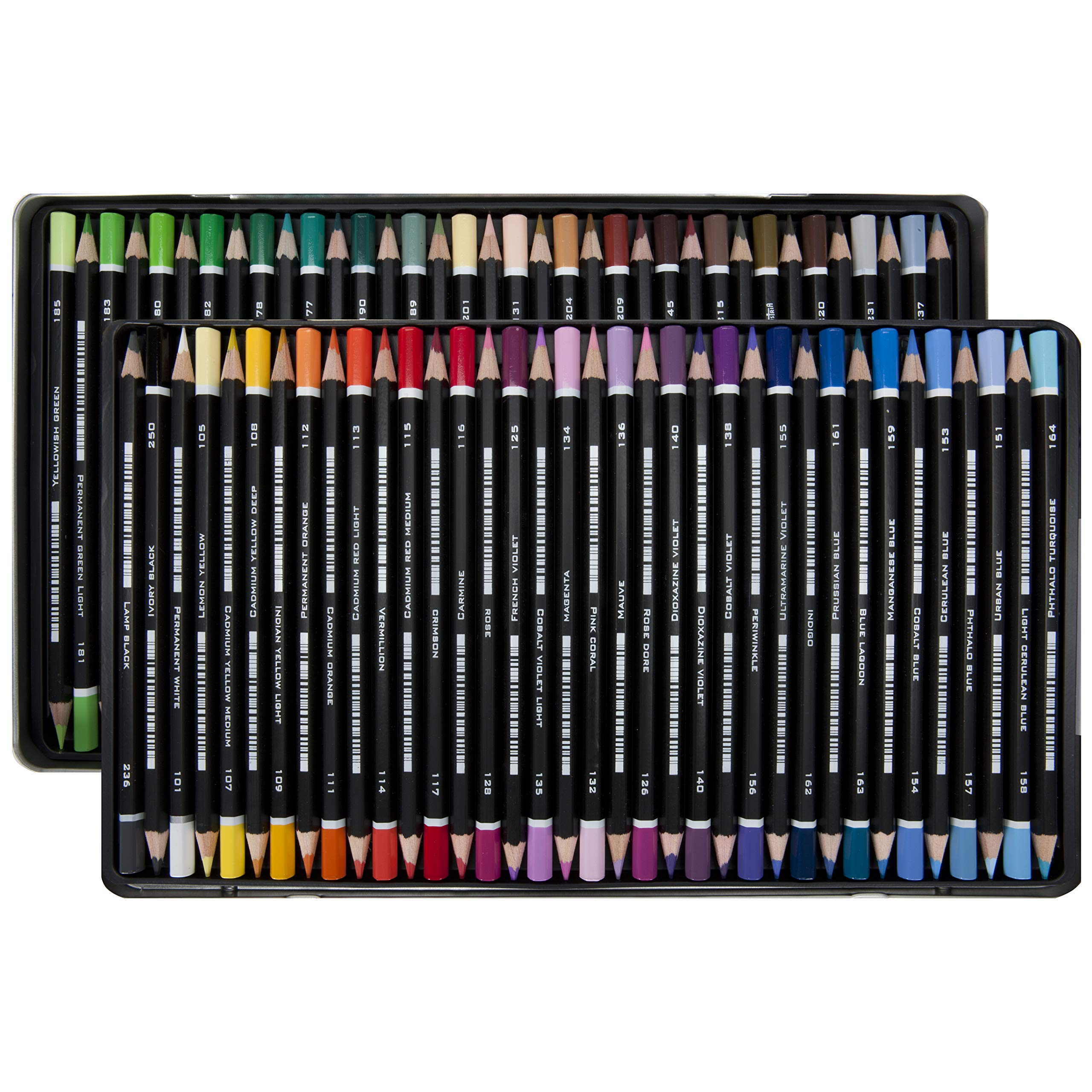 SoHo Urban Artist Professional Colored Pencil Set of 72 - Assorted Colors by Soho Urban Artist (Image #4)