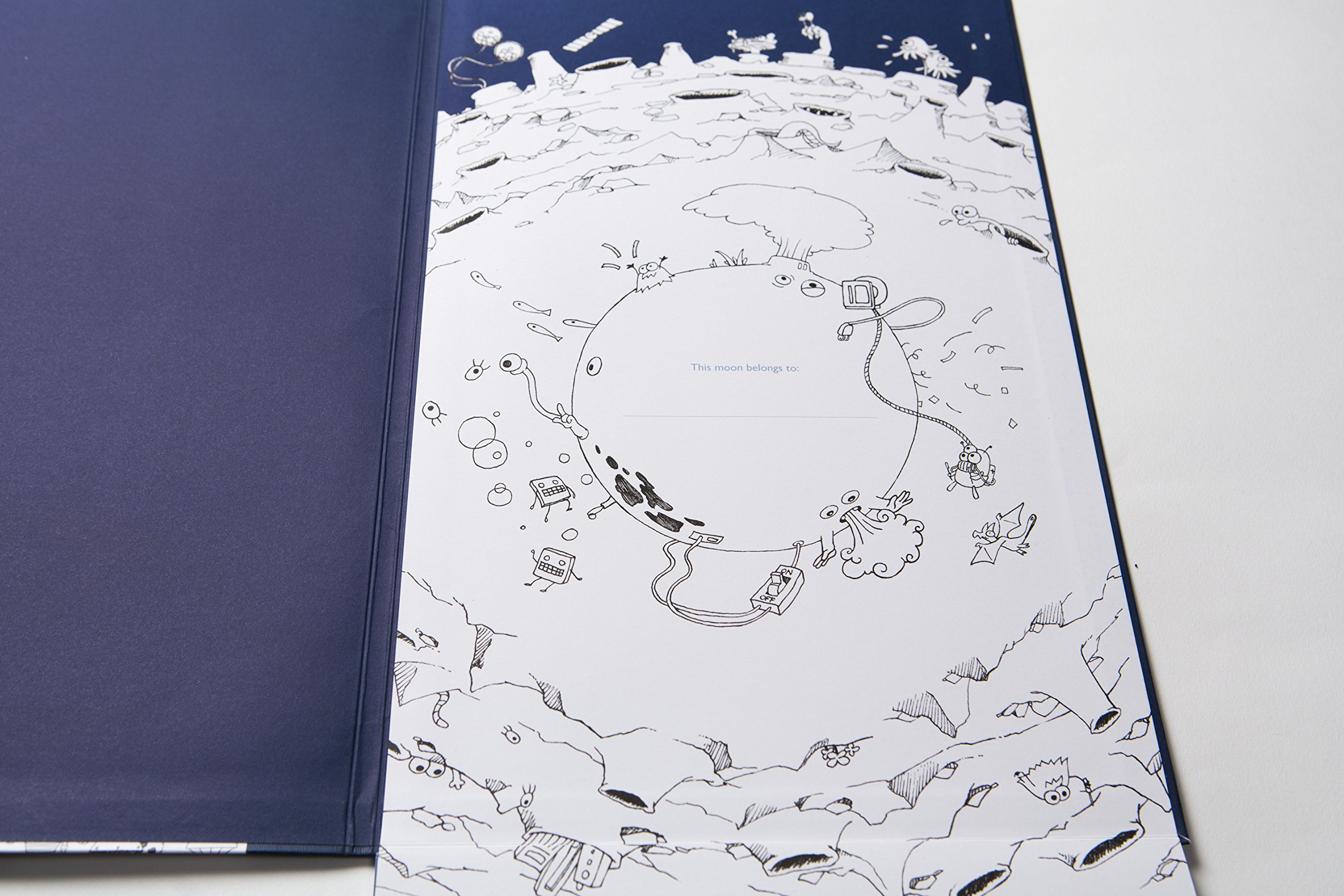 To the Moon: The Tallest Coloring Book in the World: Sarah Yoon ...