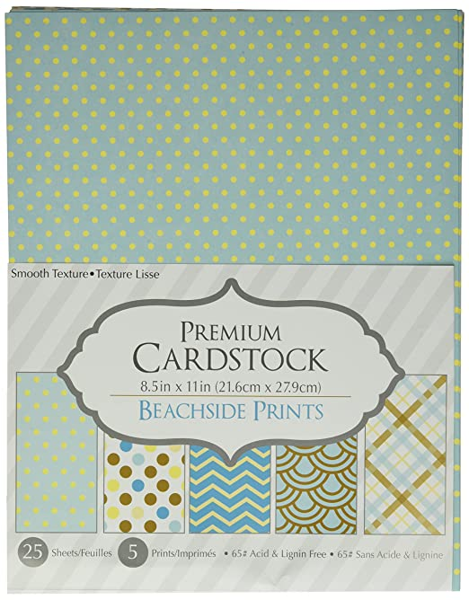 Piece 8.5x11 25 Sheets Purple Prints Darice 30020605 Patterned 8.5 by 11 Cardstock Paper Pack