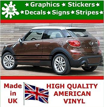 Craft Art Design Car Side Stripe Graphics Sticker Vinyl Decal Tuning