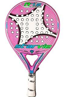 StarVie R 7.2 Text 2016 Pala de pádel, Unisex Adulto, Rosa, 360 Gramos