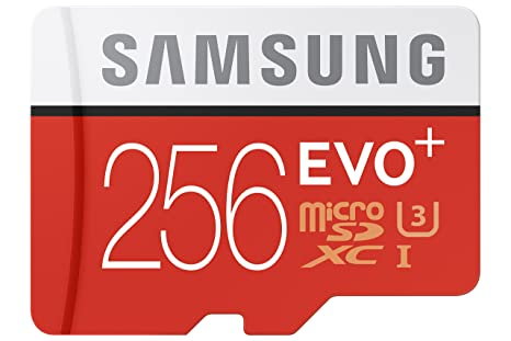 Samsung MB de mc256da/AMZ EVO Plus Serie Micro Tarjeta de ...