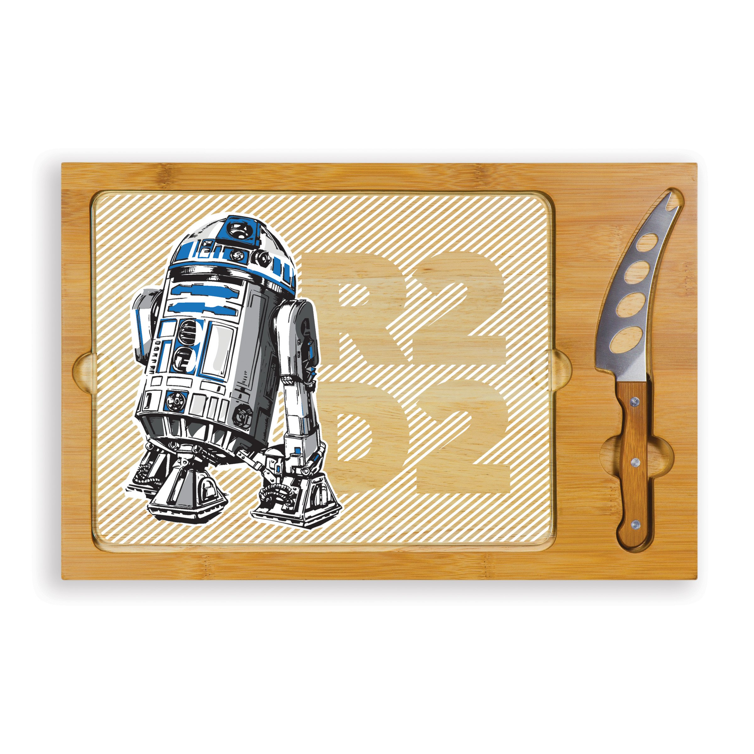 Lucas/Star Wars R2-D2 Icon 3-Piece Cheese Serving Set