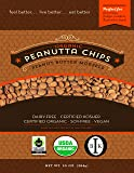 Davis Chocolate Organic Peanut Butter Baking Chips Made with Coconut Palm Sugar