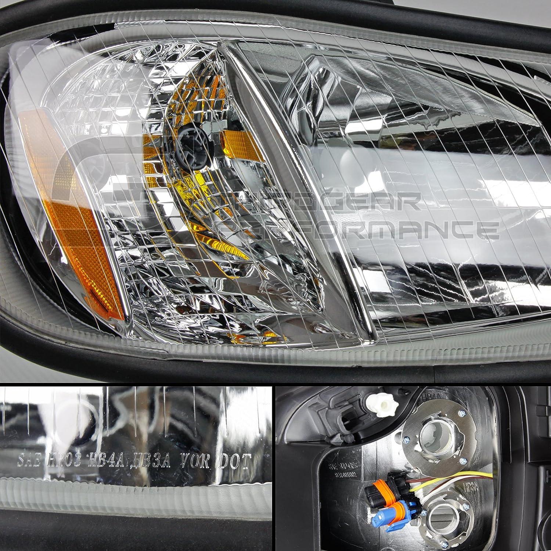 Optix 2002 2016 Freightliner M2 Business Class Headlight 2012 Wiring Diagram Headlamp Driver Passenger Side Pair Direct Oem Replacement Lamp Housing For 2003
