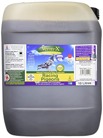 Pet Supplies Verm-x Liquid For Racing Pigeons 500ml Bird Supplies