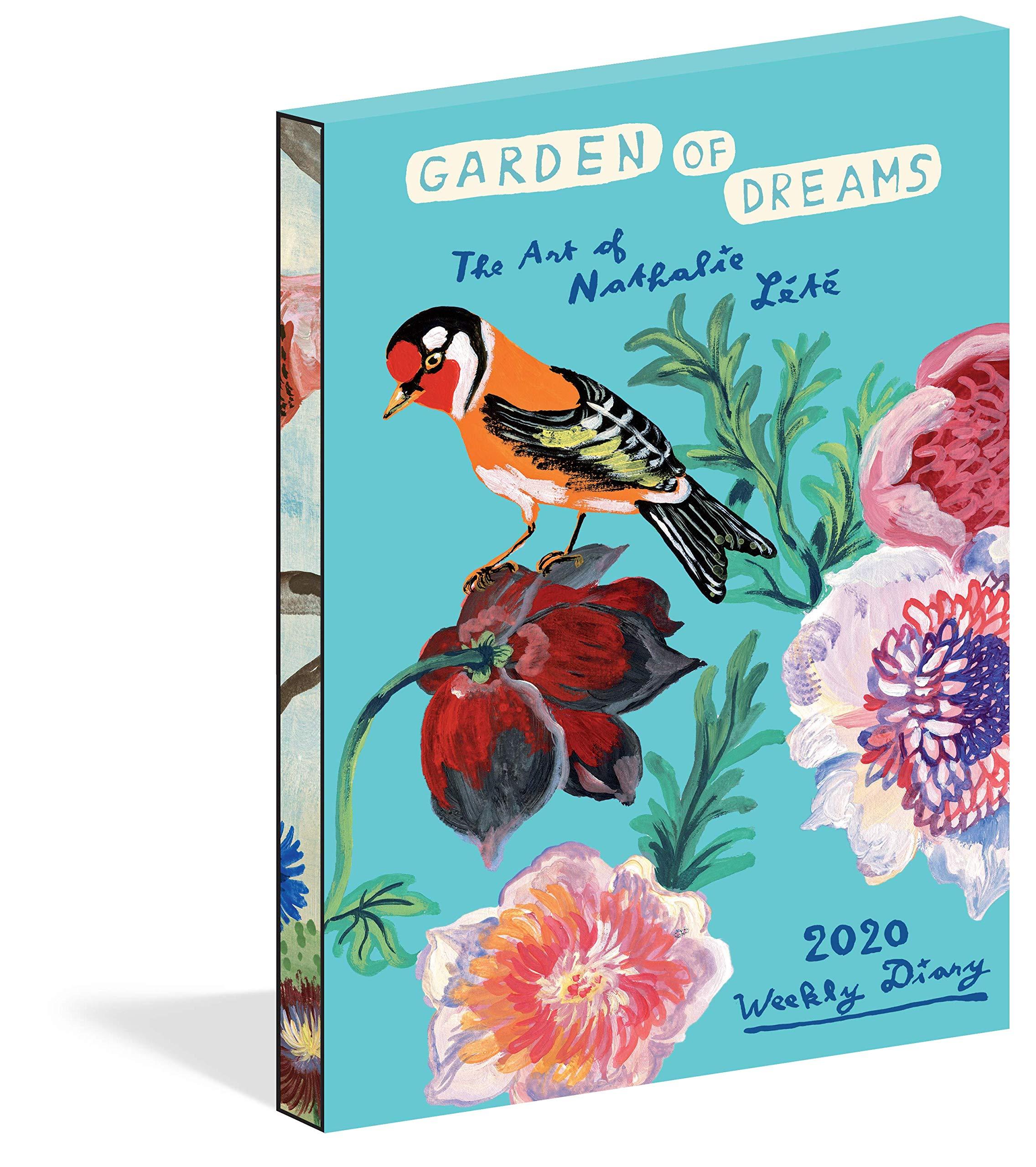 Amazon Com Garden Of Dreams Weekly Diary 2020 9781523505593