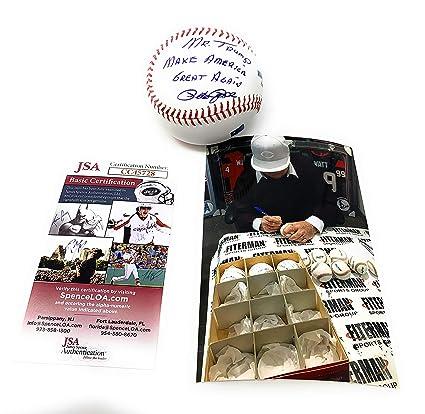 e8be31c1f Pete Rose Cincinnati Reds Signed Autograph Official MLB Baseball MR TRUMP  MAKE AMERICA GREAT AGAIN Inscribed