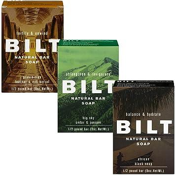 7b72a11d06a4 Amazon.com   BILT Natural Bar Soap for Men