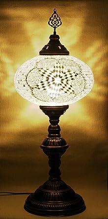 Mosaik Tischlampe Xxl Orientalische Mosaik Lampe Stehlampe
