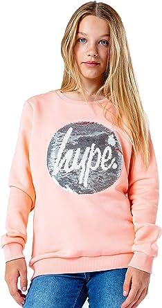 Hype Rose Gold Sequin Kids T-Shirt